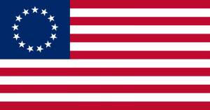 An accurate depiction of the Betsy Ross Flag