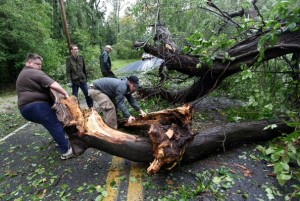 D.C. storm damage. Image: Washington Post