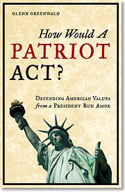 """Cover Art of """"How Would A Patriot Act?"""""""