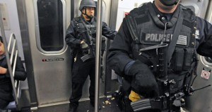 A post-9/11 militarized New York Police Department