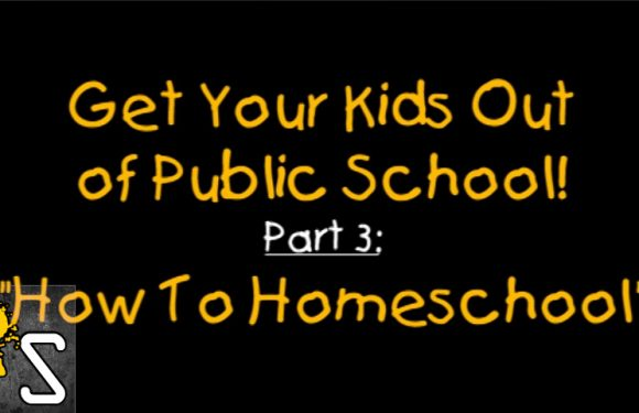 VIDEO: Get Your Kids Out Of Public School Part 3: How To Homeschool