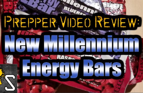 VIDEO: New Millennium Energy Bars Prepper Review