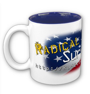 Official Radical Survivalism Patriot Mug