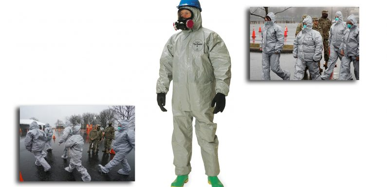Useful Gear: TYCHEM Type F Coveralls